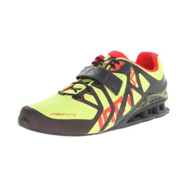 Inov-8 Men's Fast Lift 335 Lifting Shoe,Lime/Black/Red,10.5 M US