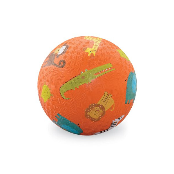 Crocodile Creek Jungle 5 Playground Ball - Orange