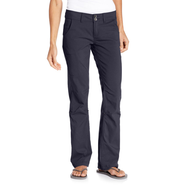 prAna Living Women's Regular Inseam Halle Pant, Coal