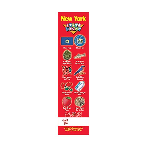 Gallopade Publishing Group New York Symbols Bookmark (9780635061942)