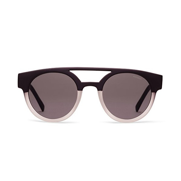 Komono Dreyfuss Matte Black / Transparent Sunglasses