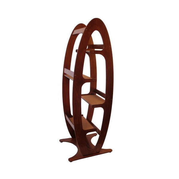 Contoure Modern Cat Tree (walnut stain)