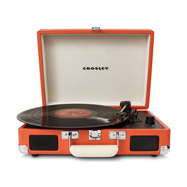 Crosley CR8005A-OR Cruiser Portable Turntable (Orange)