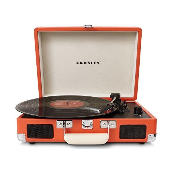 Crosley CR8005A-OR Cruiser Portable Turntable (Orange)