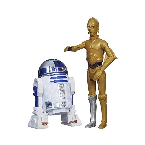 Star Wars Mission Series Figure Set (C-3PO and R2-D2)