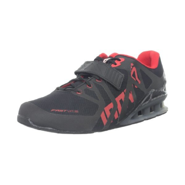 Inov-8 Men's Fastlift 335 Cross-Training Shoe,Black/Red/Carbon,8 M US