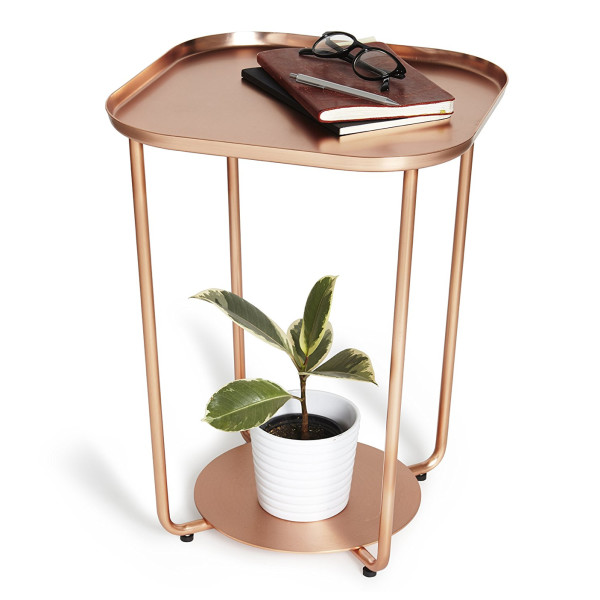 Umbra Annex Side Table, Copper