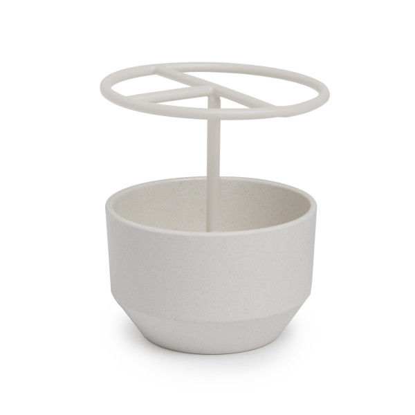 Umbra Fiboo Toothbrush Holder, Linen