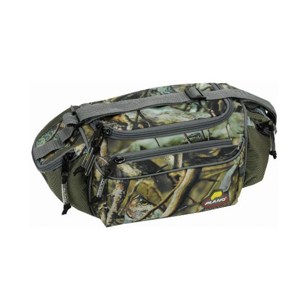 Plano Fishauflauge Bag with 4-3500 Stowaways Crappie Print
