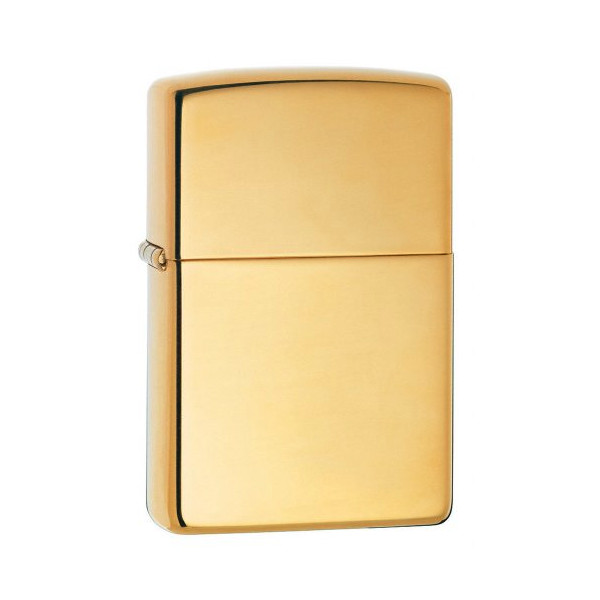 Zippo High Polish Brass Pocket Lighter