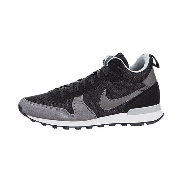 Nike Women's Internationalist Mid - Black / Grey Mist-Summit White-Dark Grey, 6.5 B US