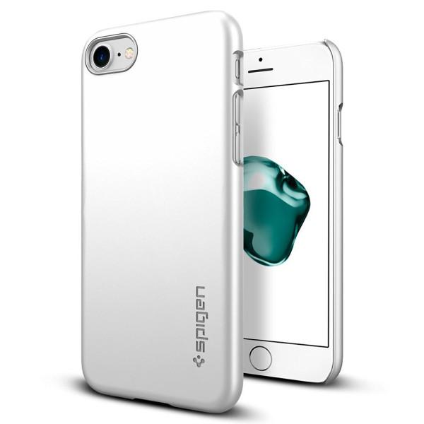 Spigen Thin Fit Case, iPhone 7, Satin Silver