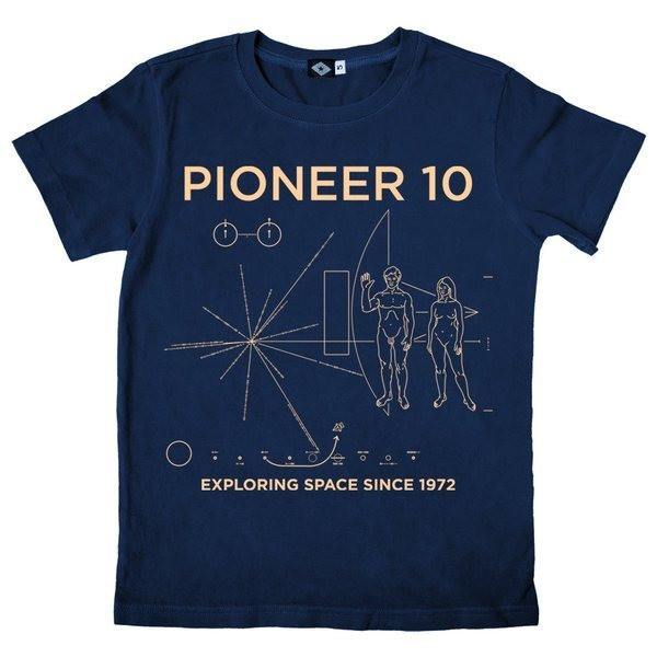 Hank Player 'NASA Pioneer 10' Men's T-Shirt