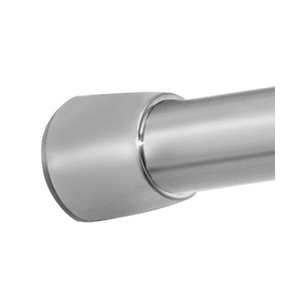 InterDesign Forma Shower Curtain Tension Rod, Brushed Stainless Steel, 43-75 Inch