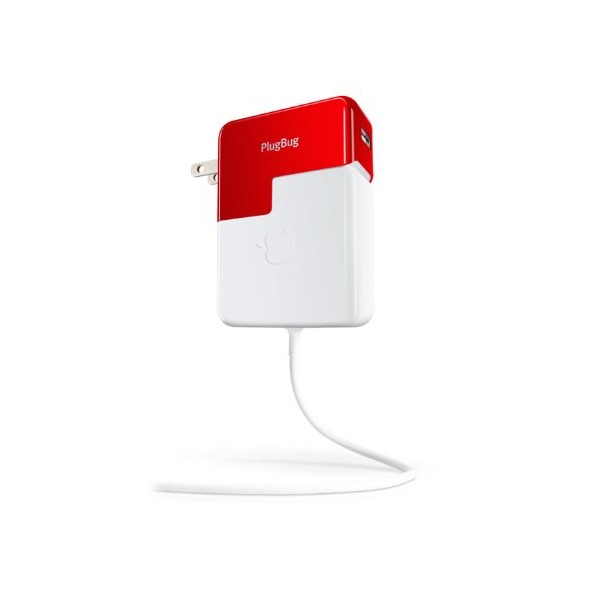 Twelve South PlugBug - All-in-one 2.1 amp iPhone/iPad charger with MacBook plug attachment