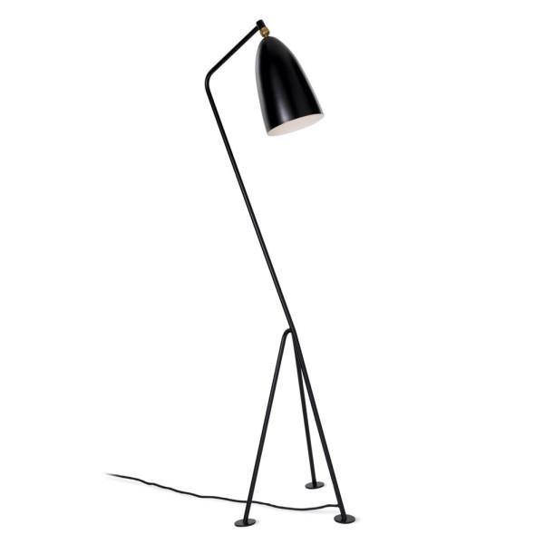 Stilnovo Grasshopper Black Floor Lamp