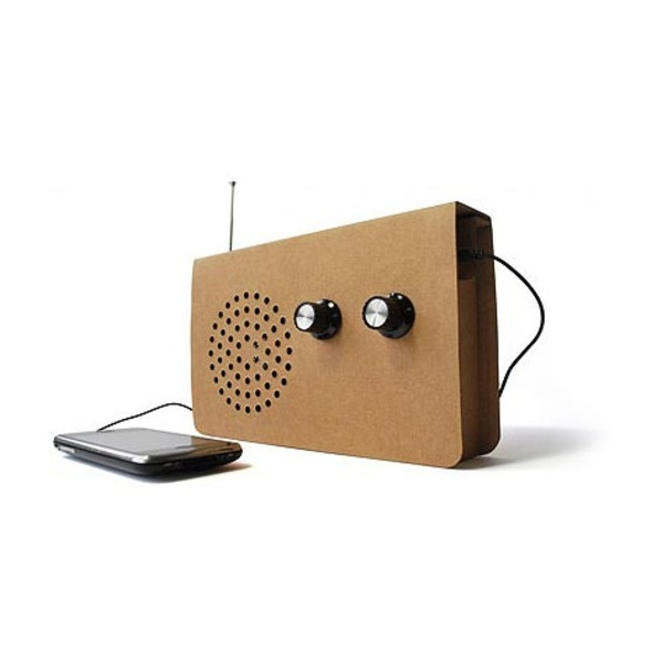 Suck UK Cardboard Radio