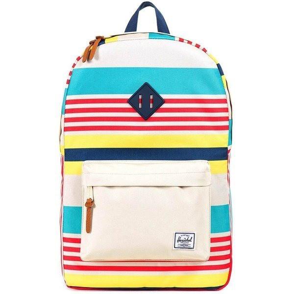 Herschel Supply Co. Heritage Backpack, Malibu Stripe Bone