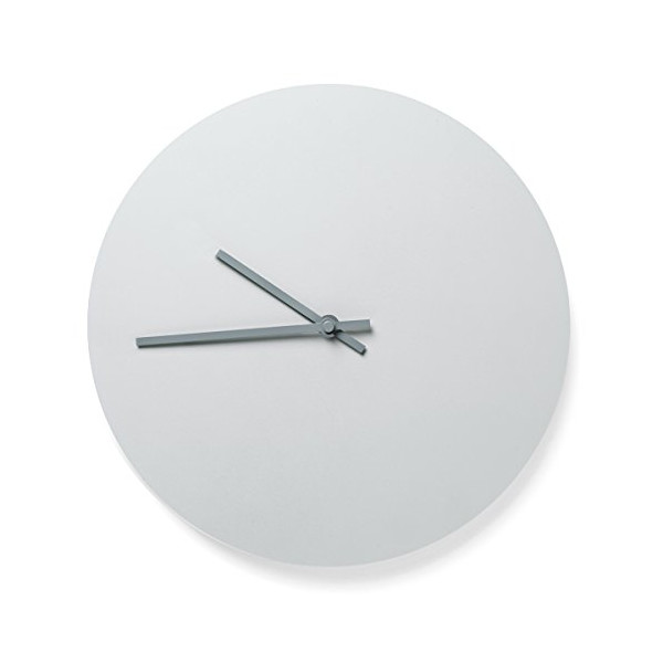 MENU Steel Wall Clock, Light Grey