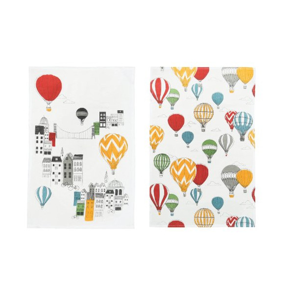 Danica Studio Teatowels, Set of Two, Panorama