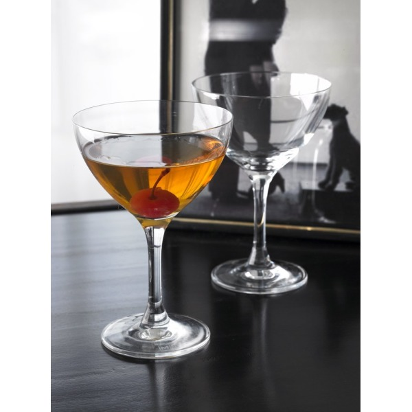 """Thin Man"" Cocktail Glasses (Gift Box of 2)"