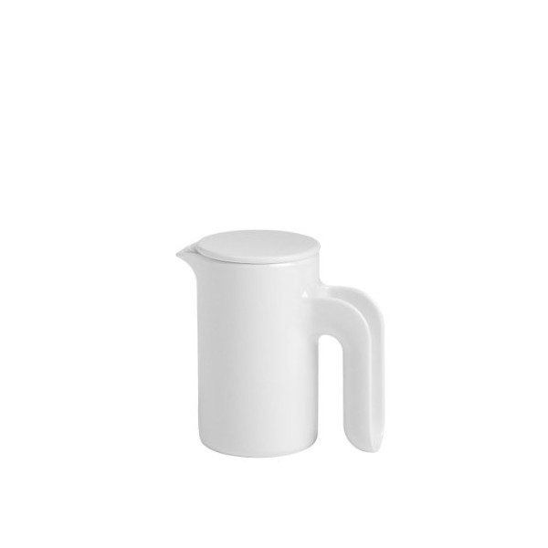 Ole Jensen Jug/Pitcher, 17-Ounce, White