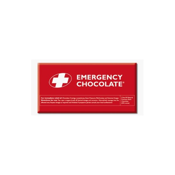Bloomsberry 1014 Emergency Choc DARK - 10 Bars