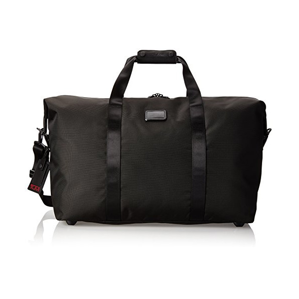 Tumi Alpha 2 Large Soft Travel Satchel, Black, One Size