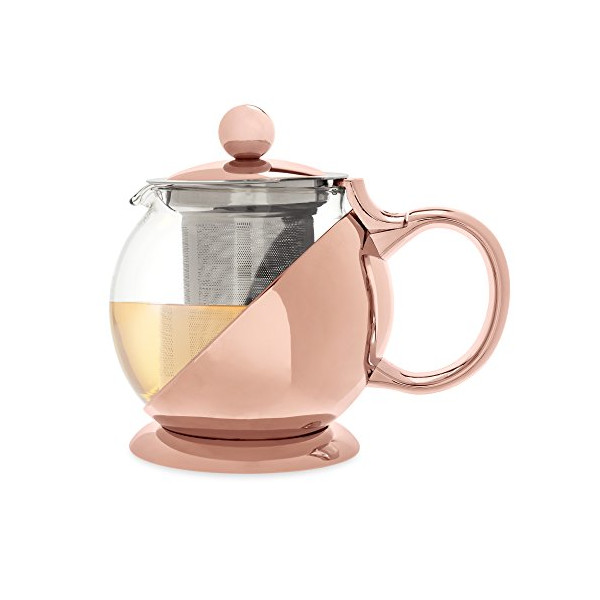 Shelby Teapot & Infuser by Pinky Up (Rose Gold)