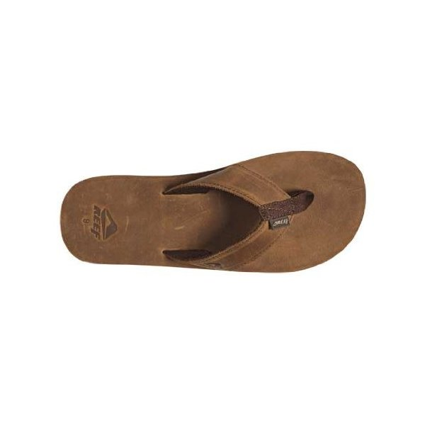 Reef Leather Smoothy Bronze Sandal (9)