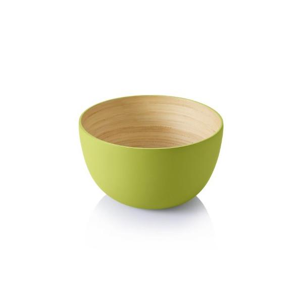 Bambu Small Lacquerware Bowl, Kiwi