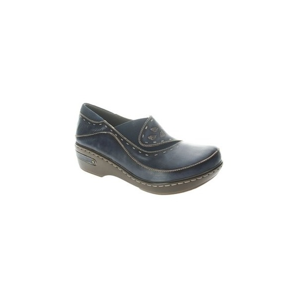 Spring Step Women's Burbank Navy Clog/Mule 39 (US Women's 8.5) M
