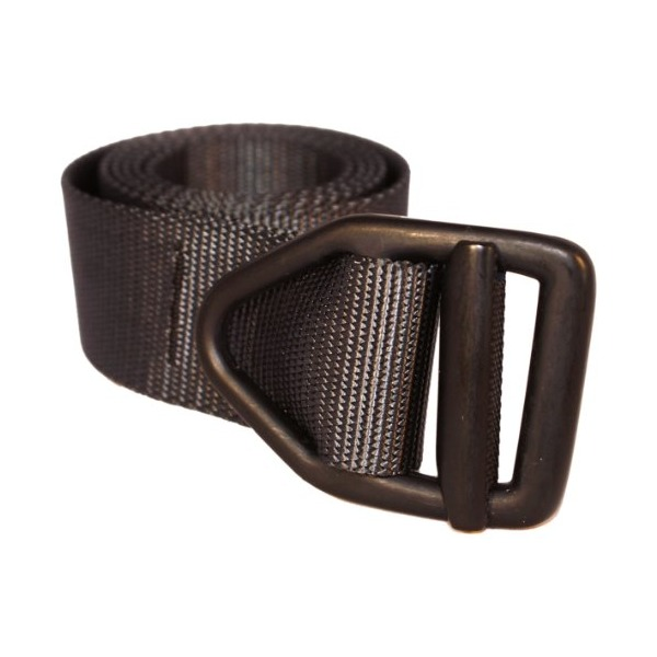 Bison Designs 38mm wide Light Duty Last Chance Belt with Black Buckle (Graphite, 38-Inch Maximum Waist/Medium)