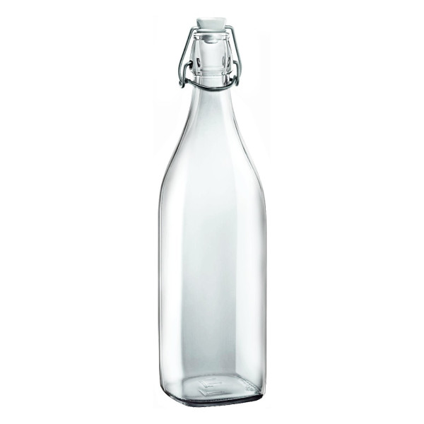 Bormioli Rocco Square Swing Bottle 33.75 oz