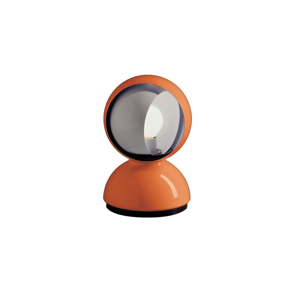 Eclisse Table Lamp - Polished White