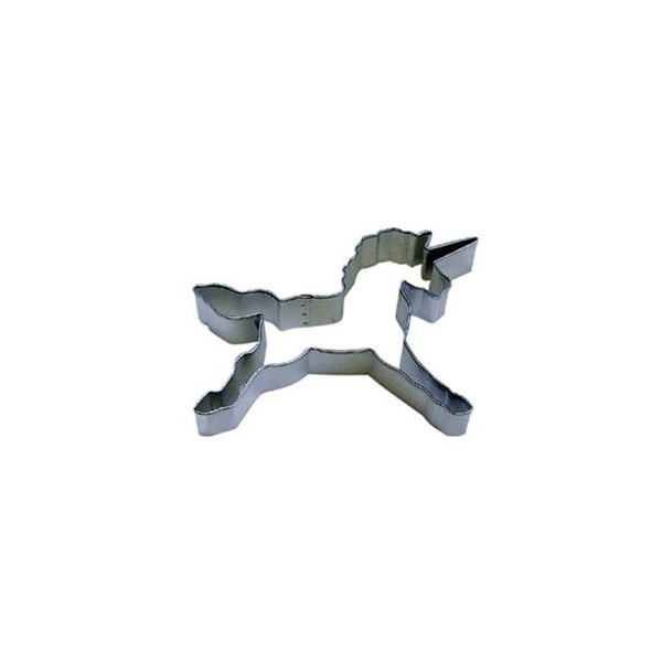 Unicorn Cookie Cutter - 4.75""