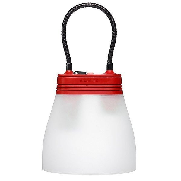 SunBell Solar Lamp and Phone Charger (Red)