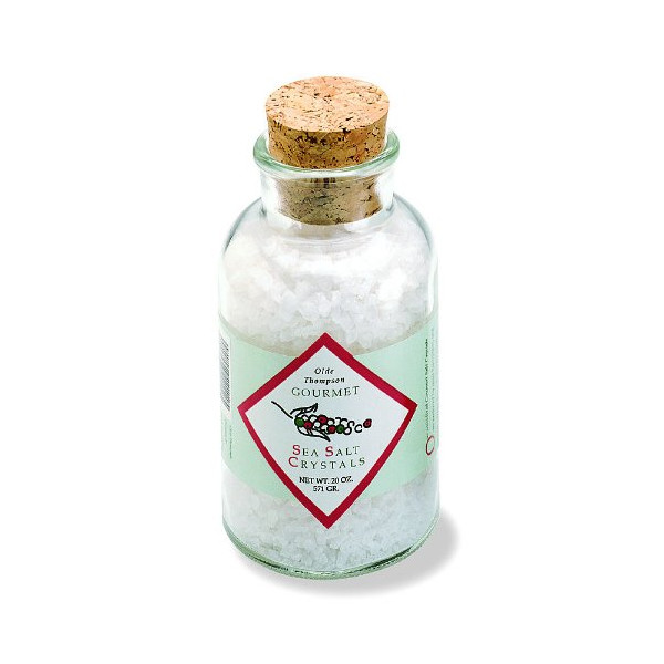 Olde Thompson 20-Ounce Mediterranean Sea Salt Crystals