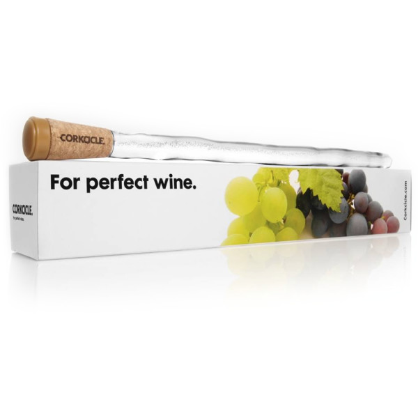 Corkcicle Wine Chiller-Clear