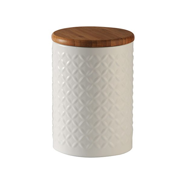 Typhoon Diamond Embossed Canister, 1-Quart Capacity