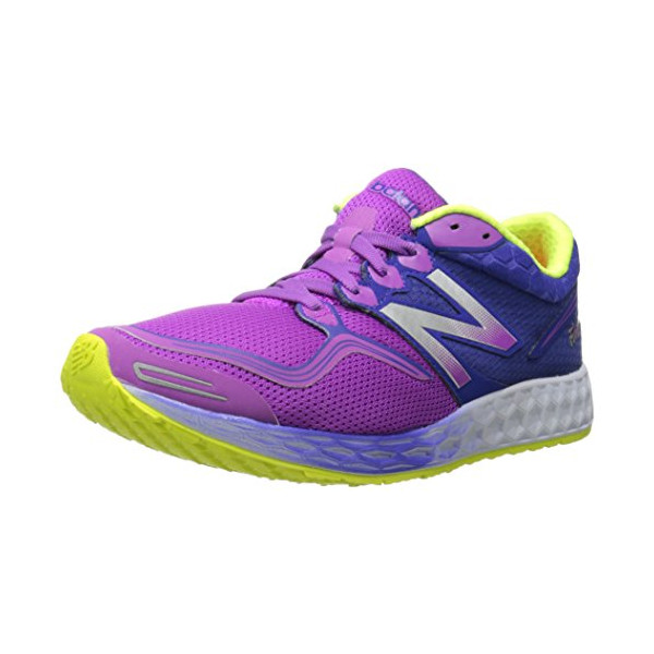New Balance Women's W1980 Fresh Foam Zante Running Shoe, Purple/Blue, 7.5 B US