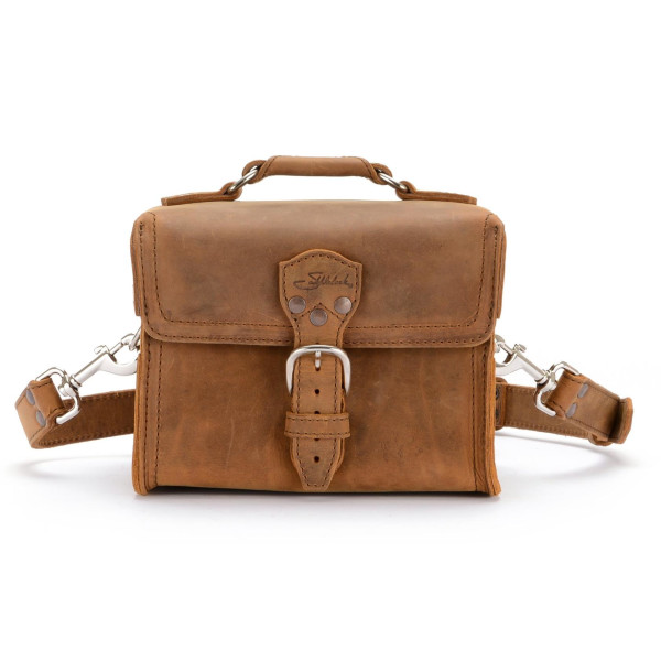 Saddleback Leather Medium Gadget Bag,  Tobacco