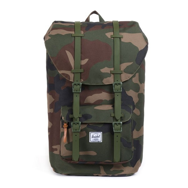 Herschel Supply Co. Little America Rubber, Woodland Camo