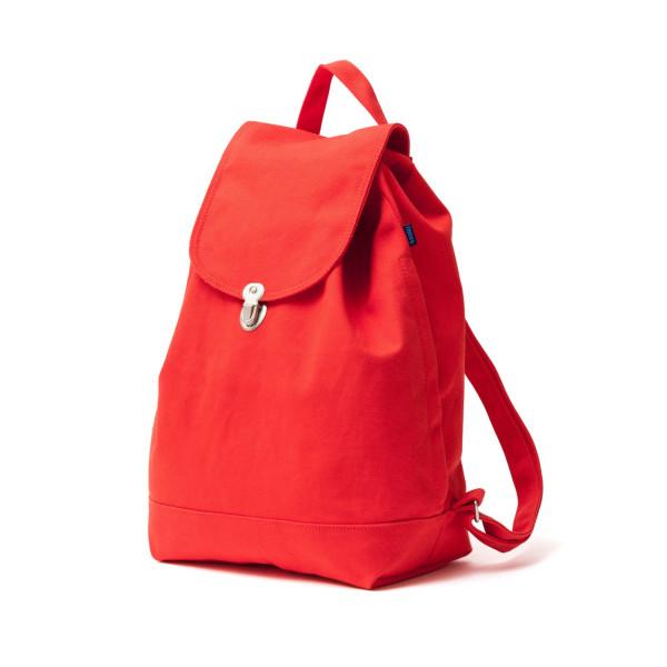 BAGGU Backpack Everyday Canvas Daypack Poppy