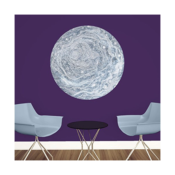 My Wonderful Walls Celestial Moon Wall Decal Art by Elise Mahan, Medium, Multicolored
