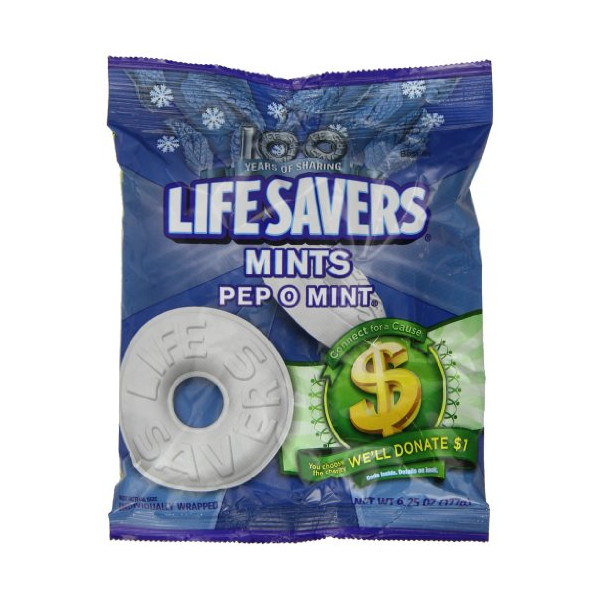 Lifesavers Pep O Mint Bag 177 g (Pack of 2)
