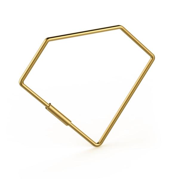 Fred KEYED UP Key Ring, Diamond