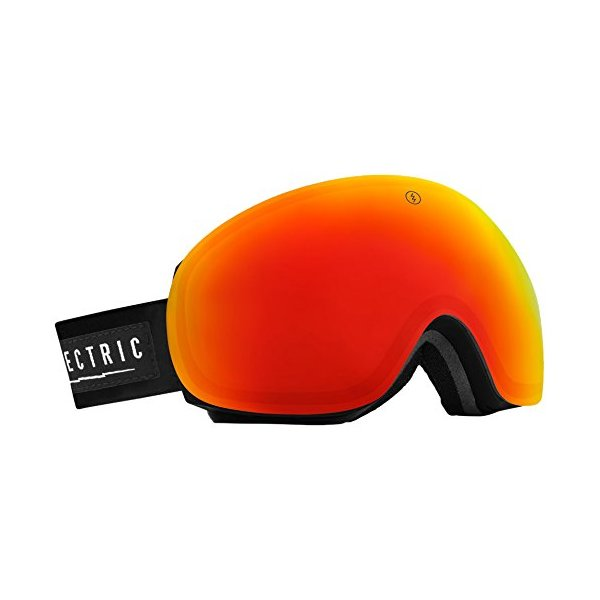 Electric EG3 Ski Goggles, Gloss Black, Bronze/Red Chrome