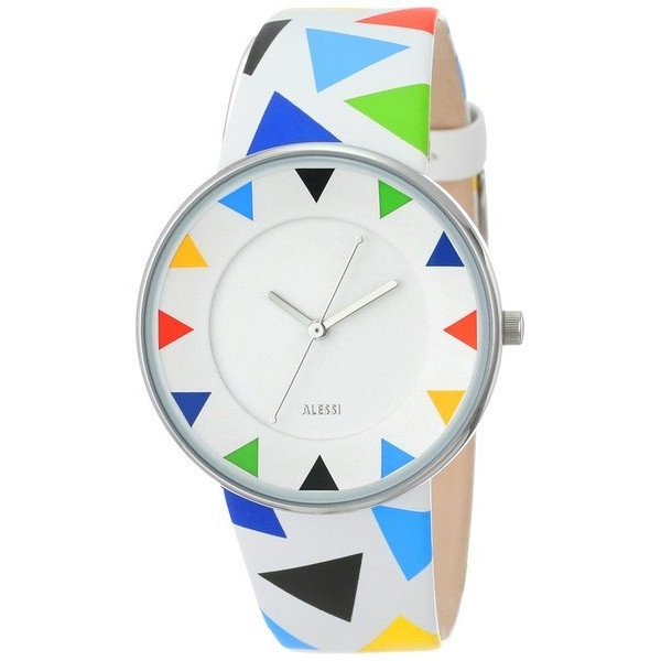 Alessi Luna Stainless Steel Harlequin Watch