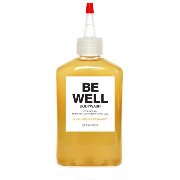 Plant Organic Bodywash, Be Well, Eucalyptus & Bergamot